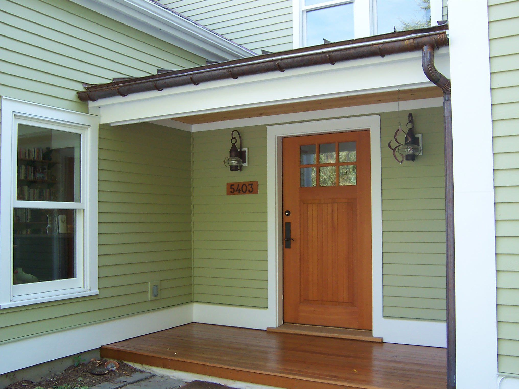Charlotte country home repaint green mountain painters - Exterior house washing charlotte ...