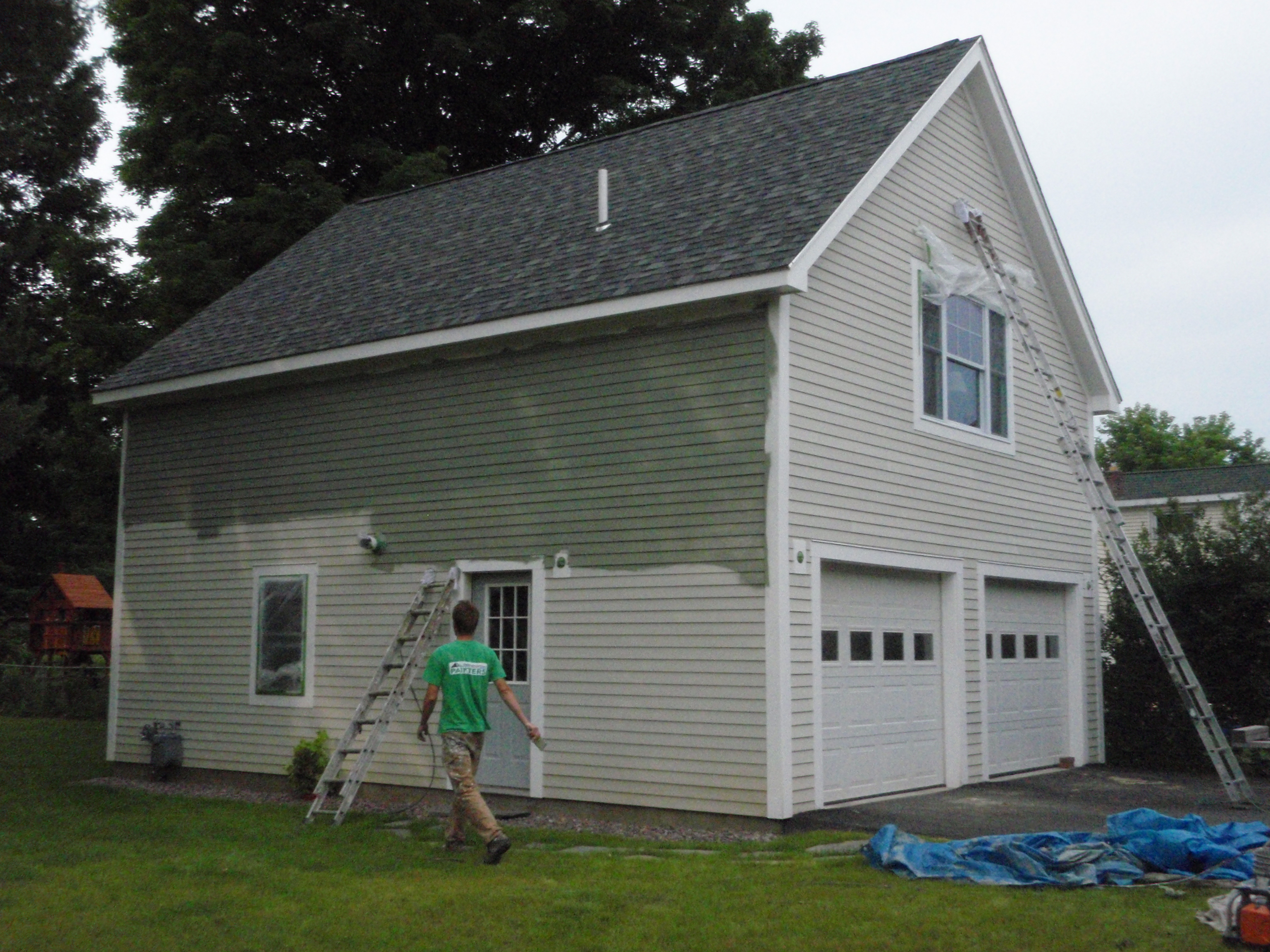 Essex Composite Siding Finishing Green Mountain Painters
